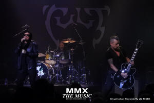 The Cult @ MMX - photos by: K.Duffy@ MMX